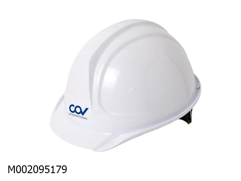 Mũ COV trắng mặt vuông COVH-301091
