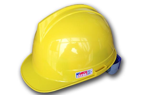 Mũ AT SSEDA SAHM-1703 màu vàng chanh có gài