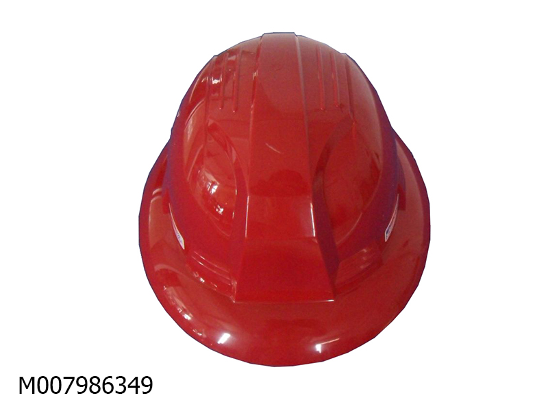 Mũ an toàn Hàn Quốc SSEDA vành rộng ( màu đỏ)