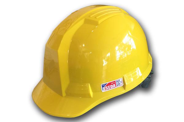 Mũ an toàn SSEDA IV Hàn Quốc có mặt phẳng màu vàng chanh