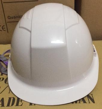 Mũ STOP mặt phẳng màu trắng STH-4001A ( có 2 cạnh gài )