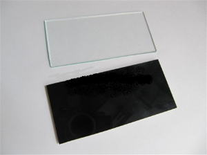 Miếng kính hàn trắng
