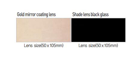 Miếng kính hàn màu trắng OTOS Model CR-600