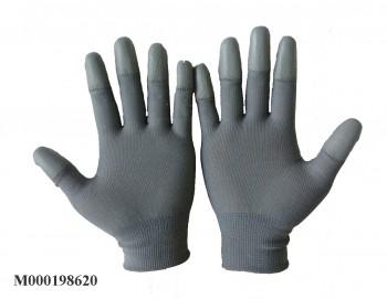 Găng tay chống tĩnh điện phủ ngón màu xám