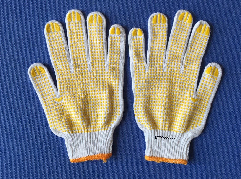 Gang tay phủ hạt nhựa