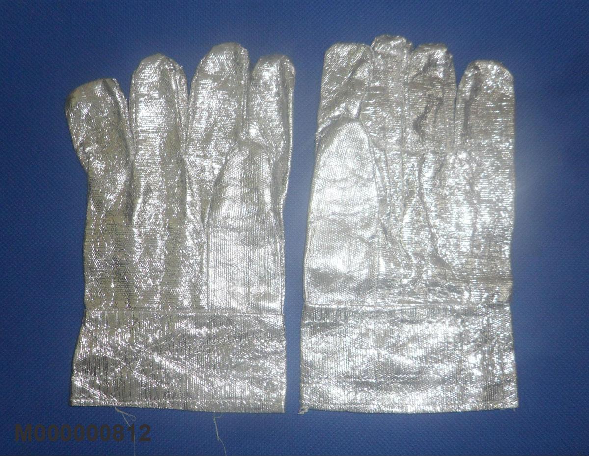 Găng tay chịu nhiệt trắng bạc