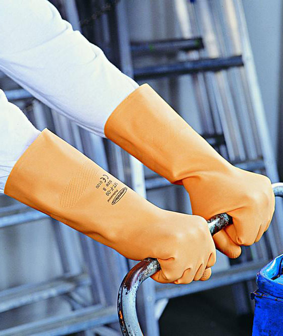 Găng tay Sumitech chống Axit MT-F-09