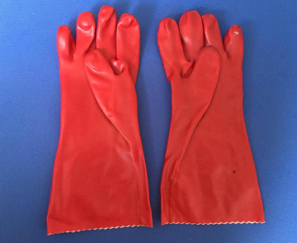 Găng tay chống Axit chống dầu X3-112R