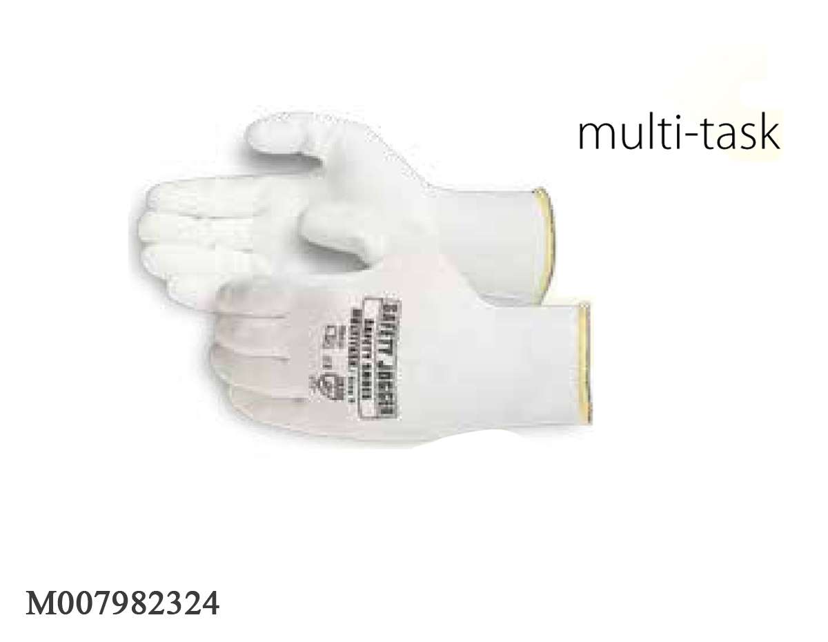 Găng tay Jogger Multi-Task-White