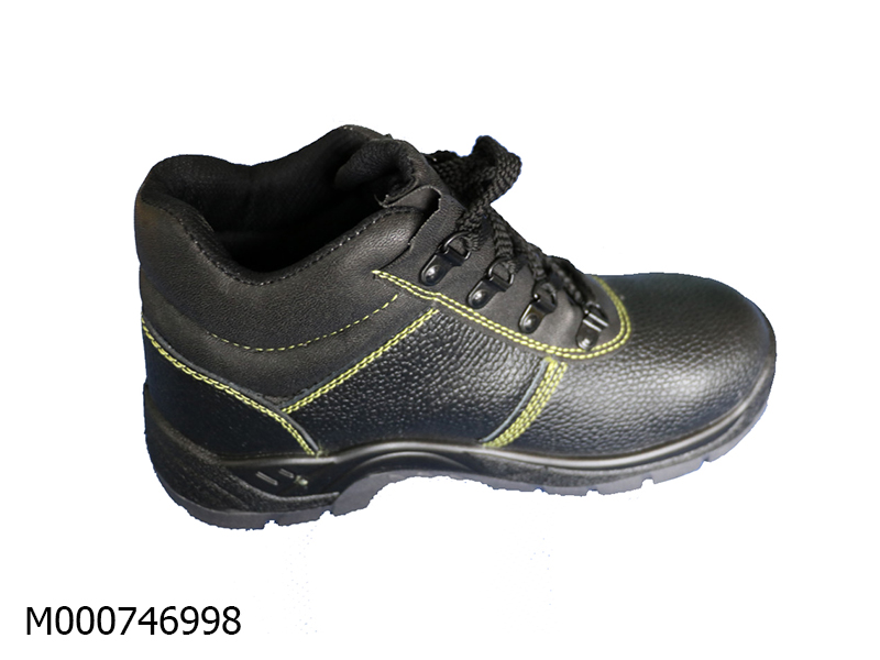 Sheffield Black Safety shoes PU