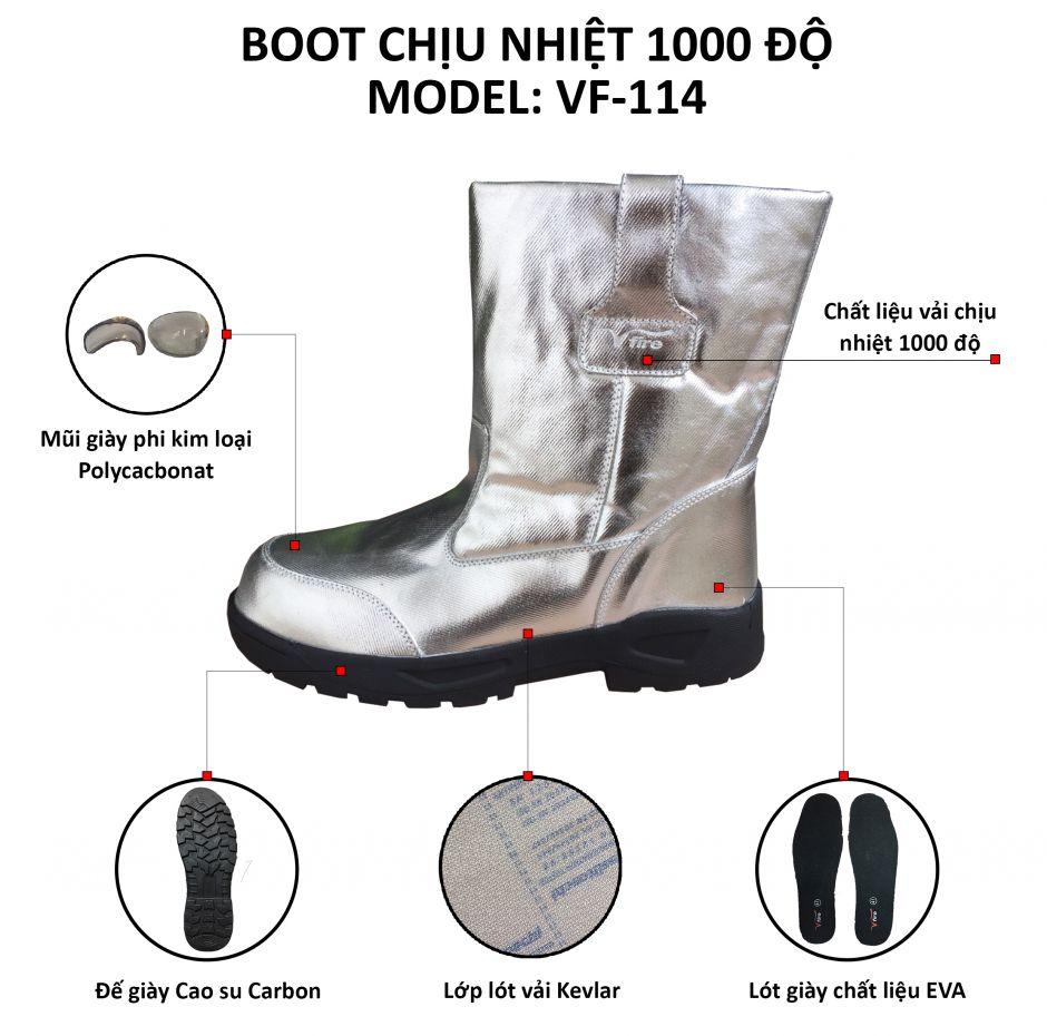 Boot Vfire chịu nhiệt 1000 độ C