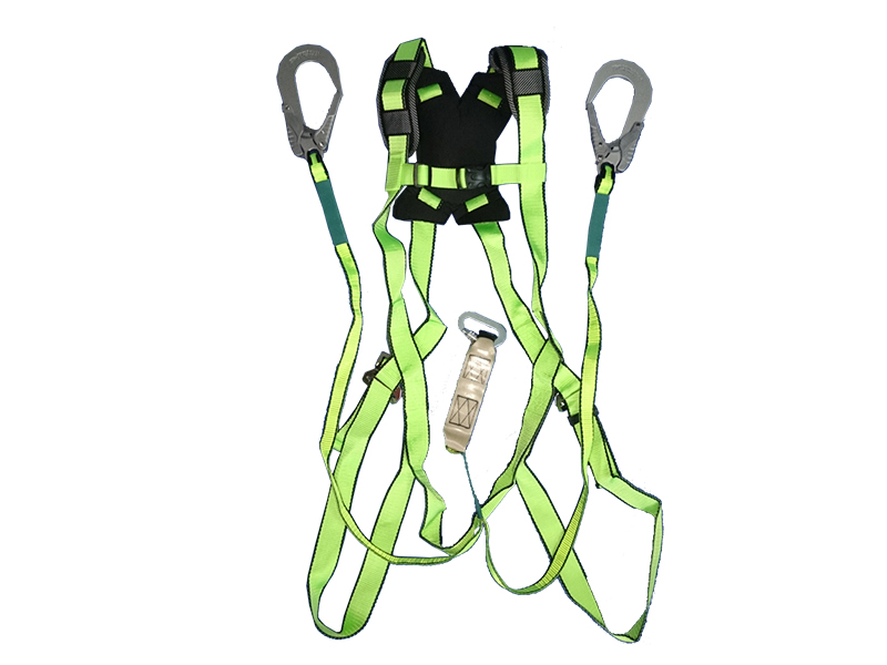 Full Body Harness 2 aluminum hooks Prism