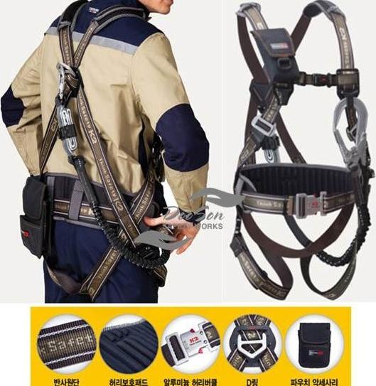 Dây an toàn Toàn thân K2 KB-9202 1 móc nhôm