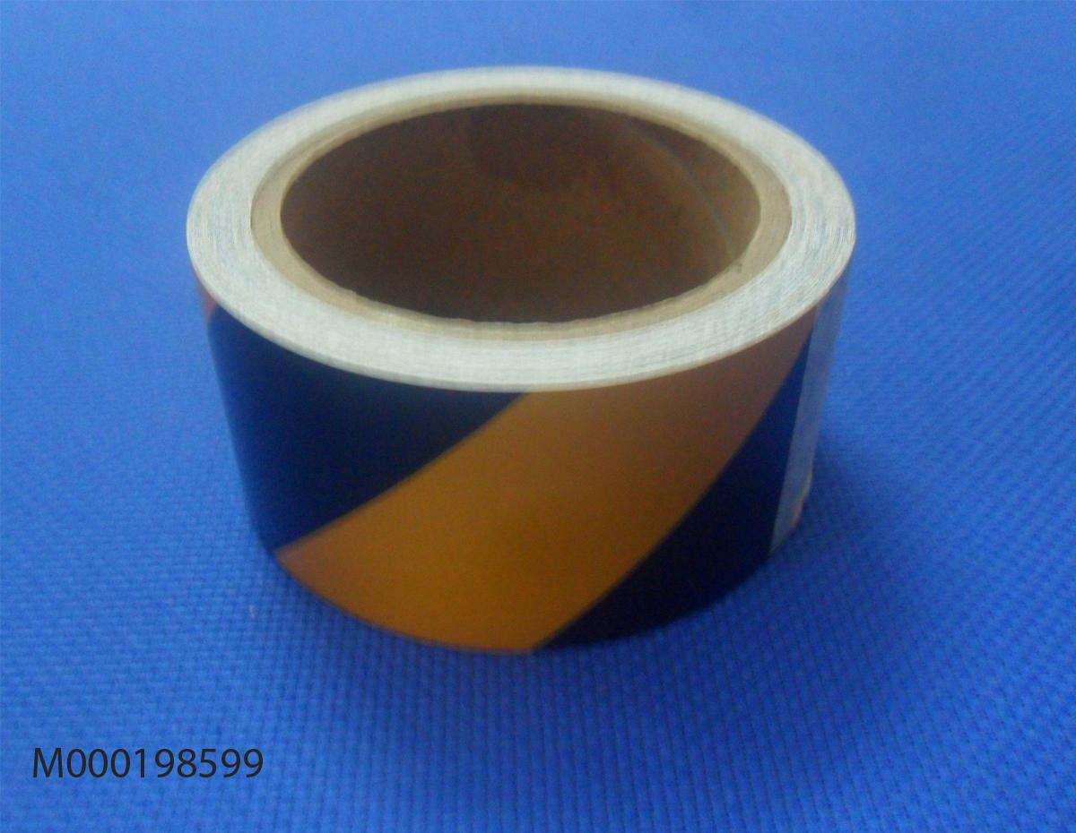 Băng dính phản quang vàng đen